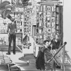 Karen Bauer Sketch